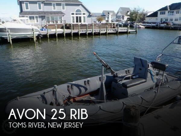 Used AVON Boats For Sale by owner | 1986 Avon 25 RIB