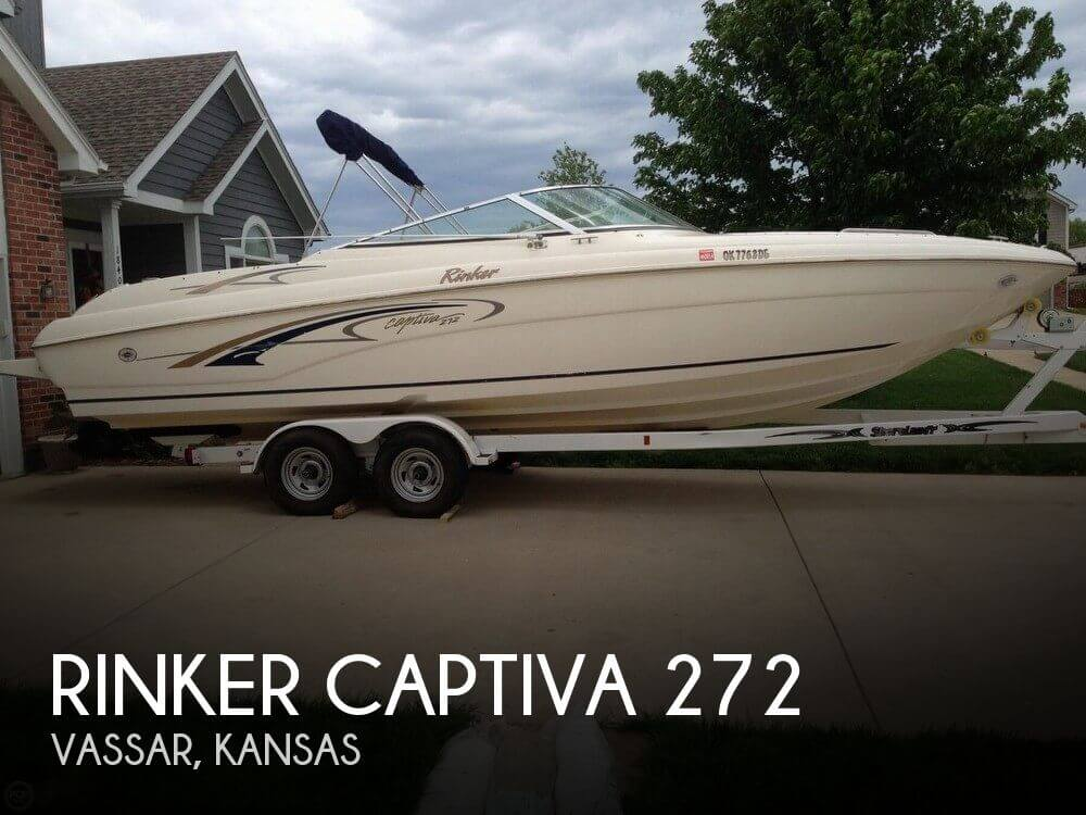 Used Boats For Sale in Kansas City, Missouri by owner | 2001 Rinker 27