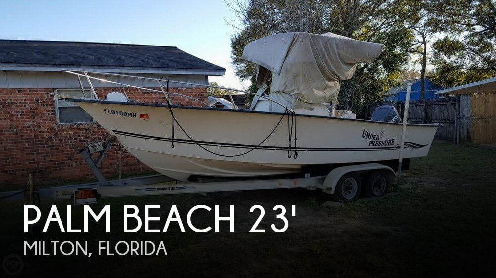 Used Palm Beach Boats For Sale by owner   2003 Palm Beach 23