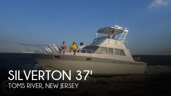 Used Silverton Fishing boats For Sale by owner | 1987 Silverton 37 Convertible