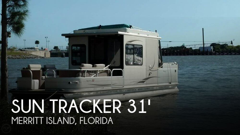 Used Pontoon Boats For Sale in Florida by owner | 2006 Sun Tracker 31