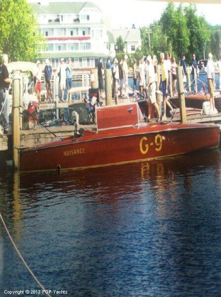 1989 Custom 26 Gold Cup Race Boat - Photo #3