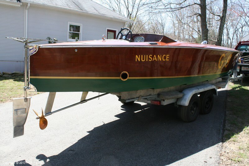 1989 Custom 26 Gold Cup Race Boat - Photo #18