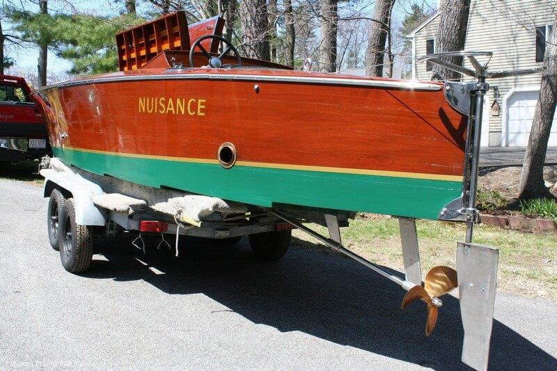 1989 Custom 26 Gold Cup Race Boat - Photo #9