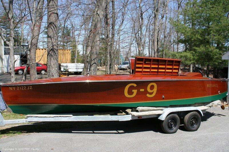 1989 Custom 26 Gold Cup Race Boat - Photo #11