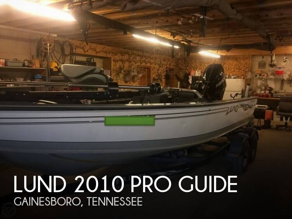 2009 LUND 2010 PRO GUIDE for sale