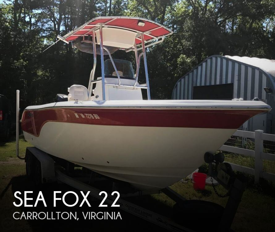 2008 SEA FOX 22 for sale