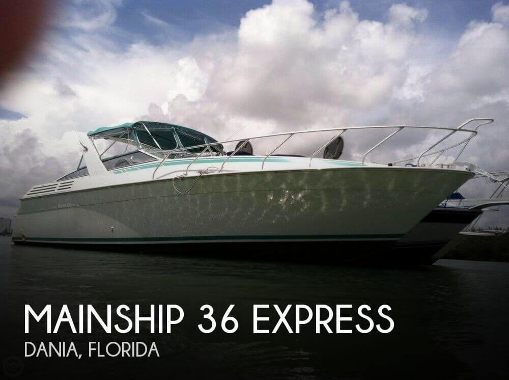 1992 Mainship 36 Express