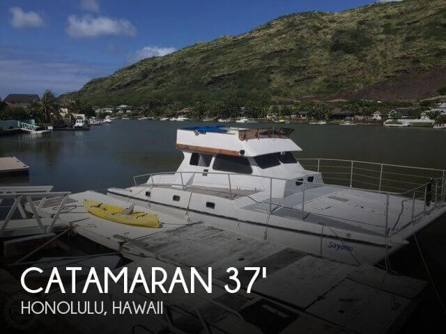 Used Boats For Sale in Honolulu, Hawaii by owner   1970 Catamaran 37