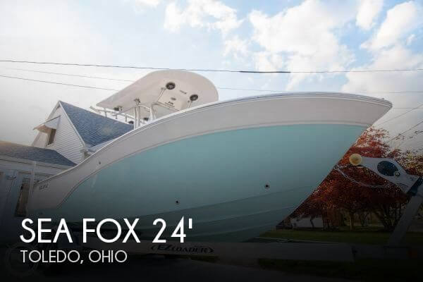 Used Boats For Sale in Toledo, Ohio by owner | 2015 Sea Fox 246 Commander