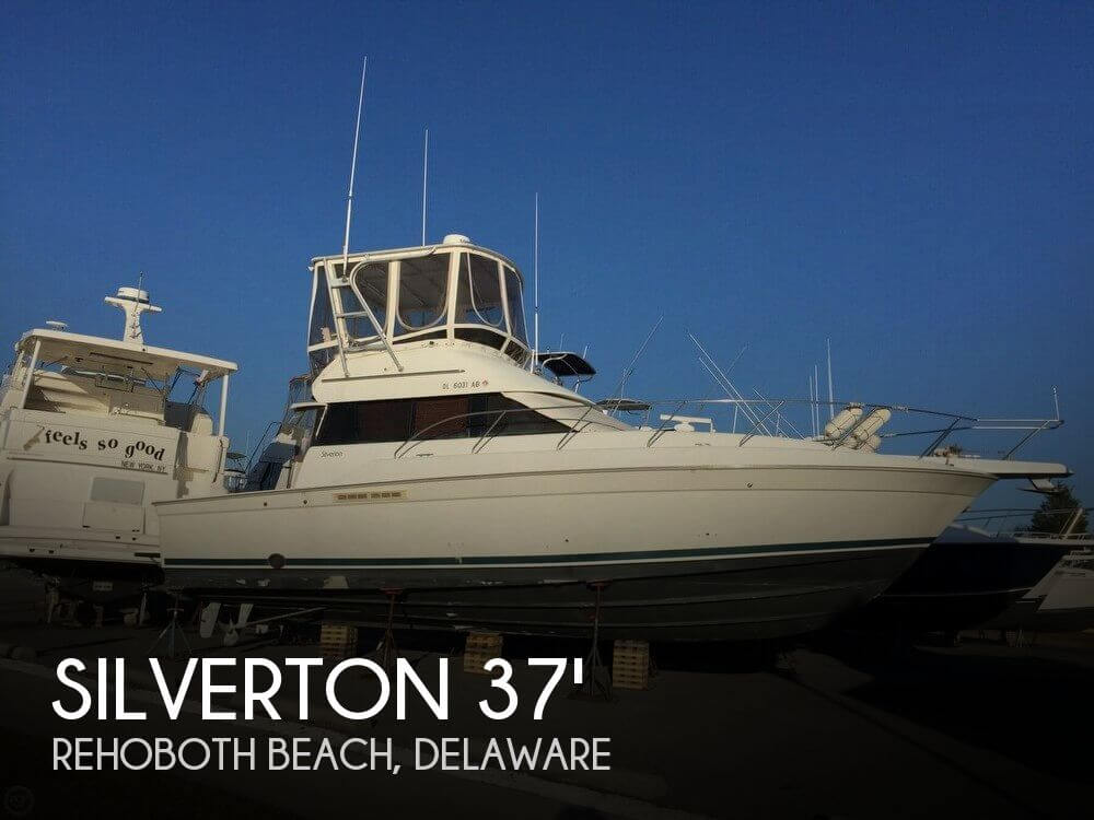 Used Boats For Sale in Delaware by owner | 1993 Silverton 42