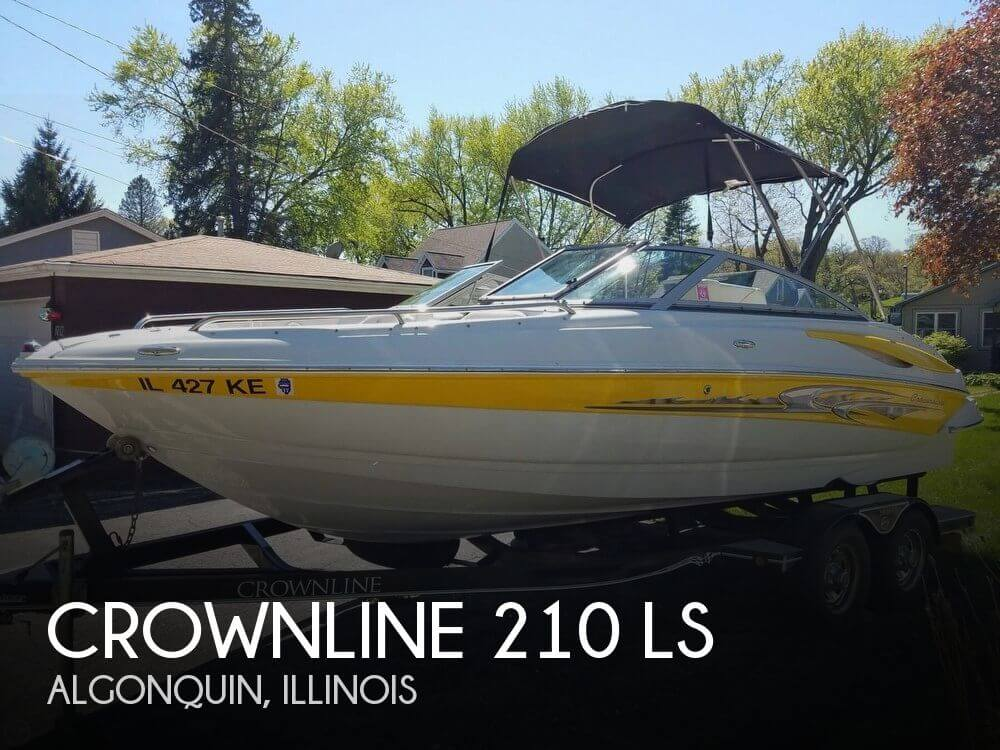 Used Crownline Deck Boats For Sale by owner | 2007 Crownline 21