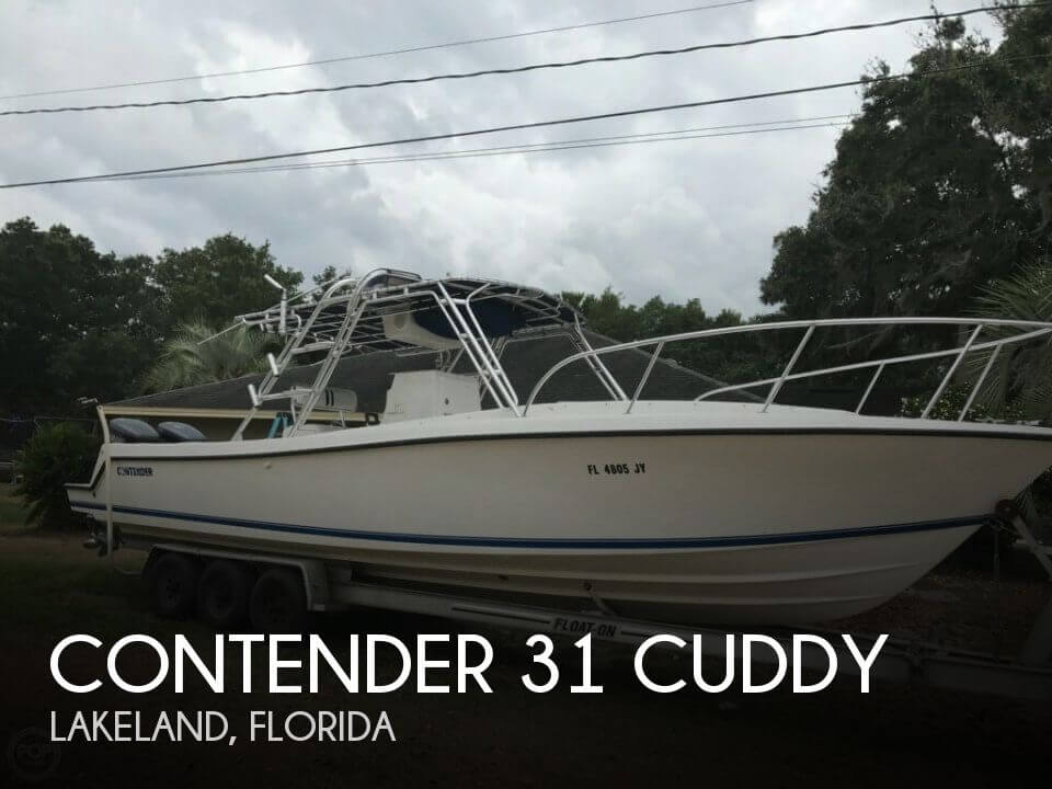 Used Contender Boats For Sale by owner | 1997 Contender 31