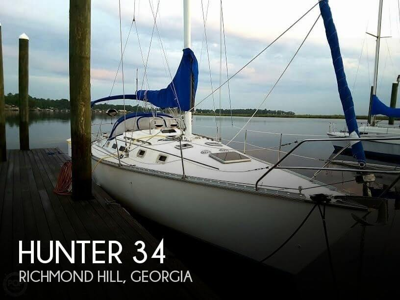 Used Hunter Sailboats For Sale in Georgia by owner | 1985 Hunter 34