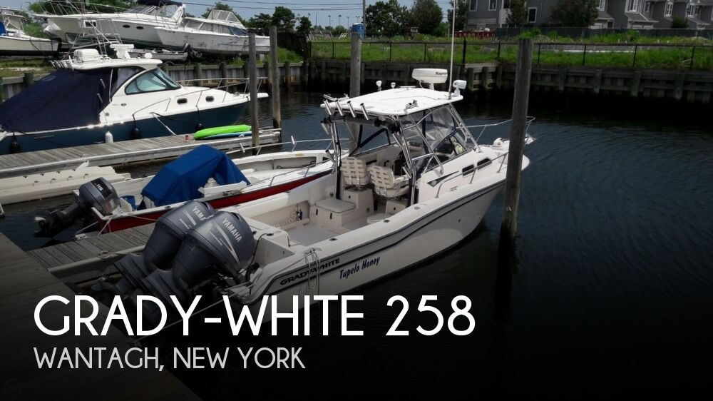 2004 Grady-White boat for sale, model of the boat is 258 Journey & Image # 1 of 40