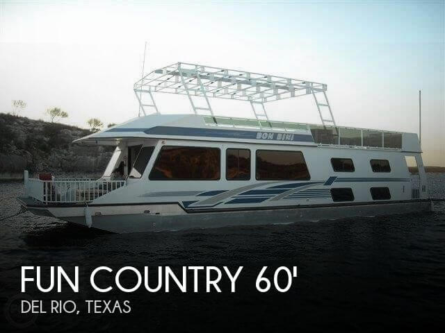 Used Houseboats For Sale in Texas by owner | 2000 Fun Country 60