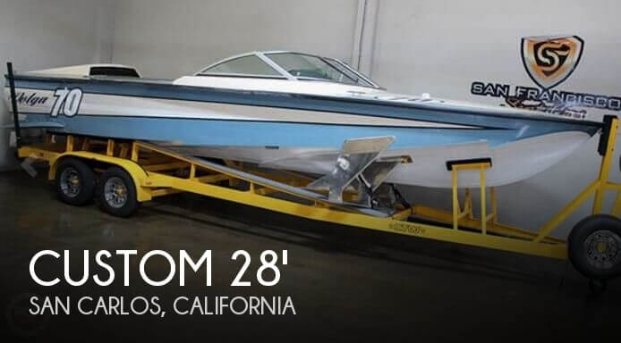 Used Boats For Sale in Santa Cruz, California by owner | 1963 Custom 28