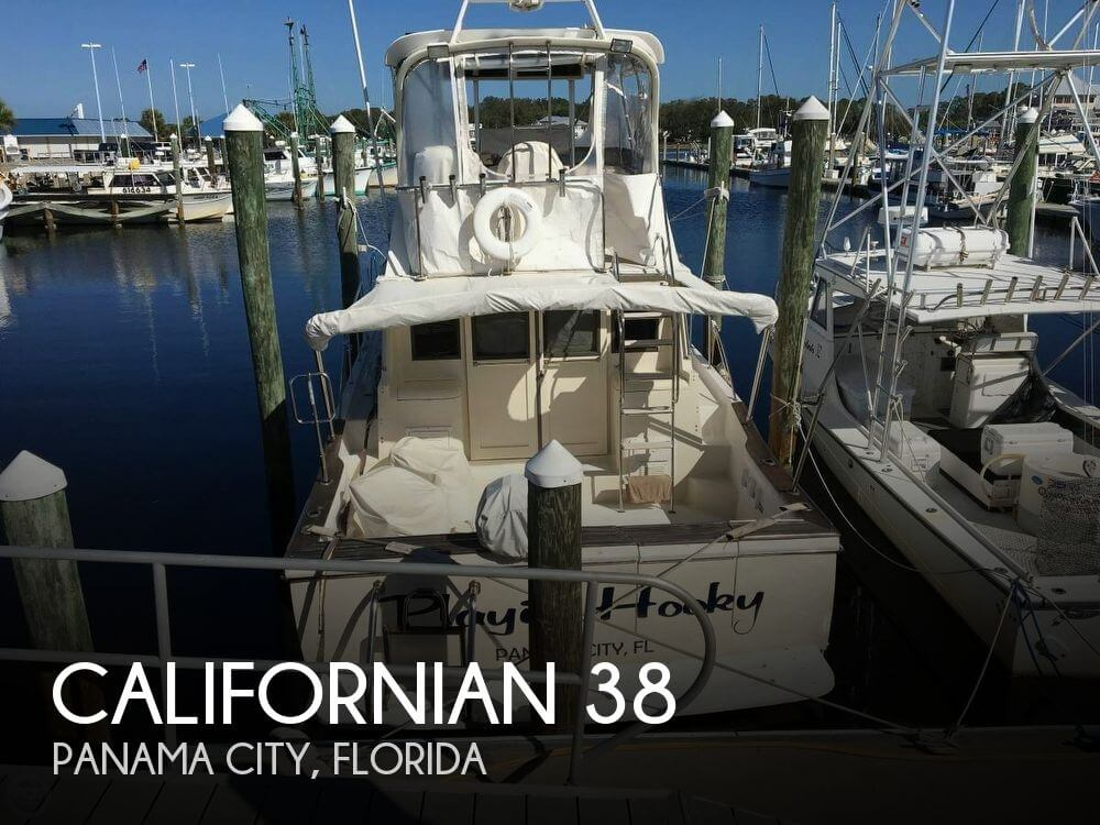 Used Californian Boats For Sale by owner | 1984 Californian 38