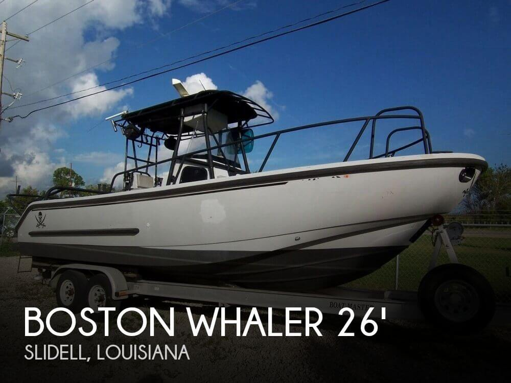 Used Boats For Sale in Gulfport, Mississippi by owner | 2000 Boston Whaler 26