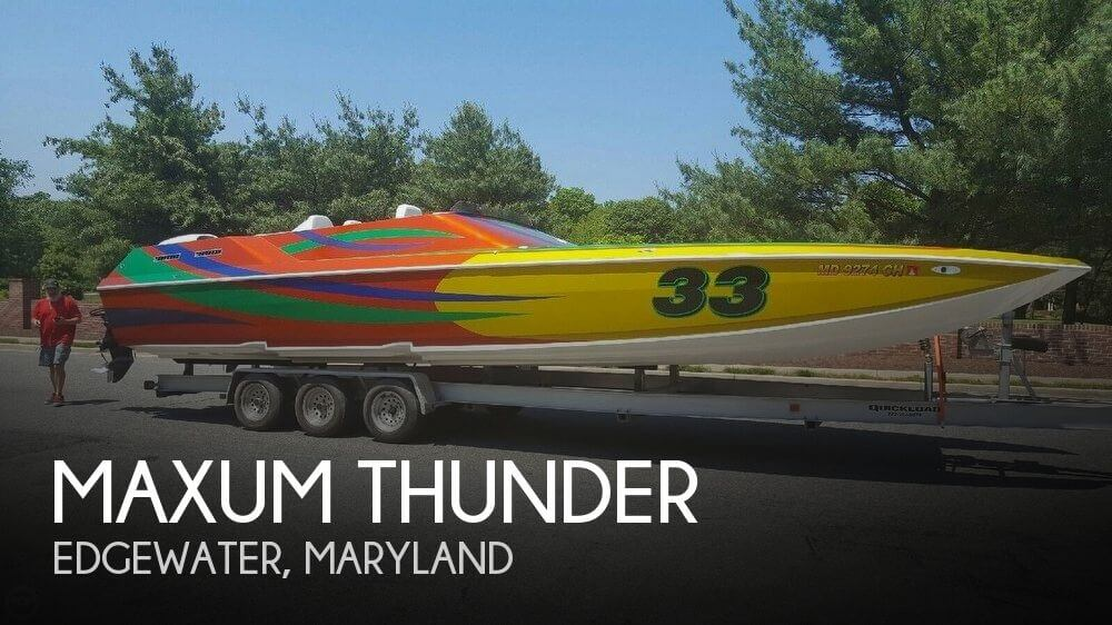 Used Maxum Boats For Sale in Maryland by owner | 2002 Maxum 33