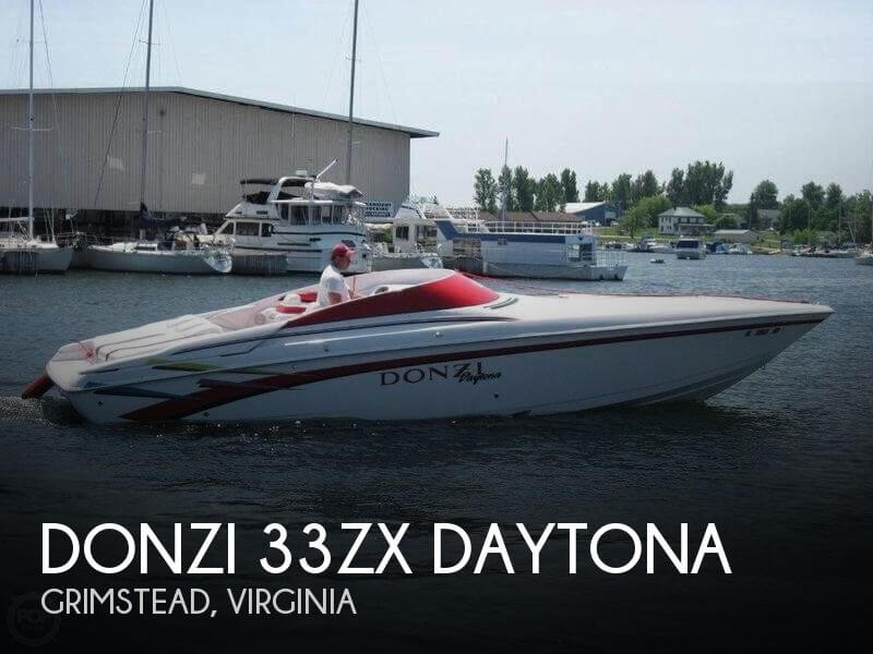 Used DONZI Boats For Sale by owner | 1998 Donzi 33
