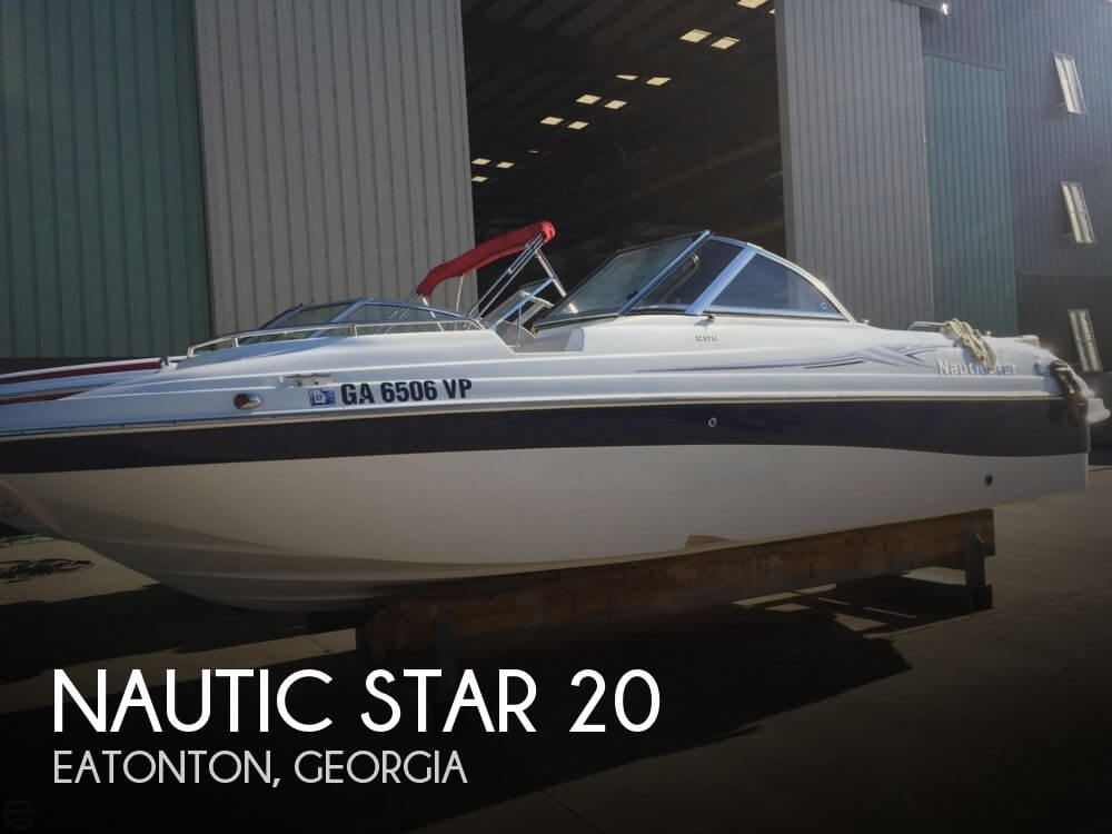 Used Deck Boats For Sale in Georgia by owner | 2007 Nautic Star 20