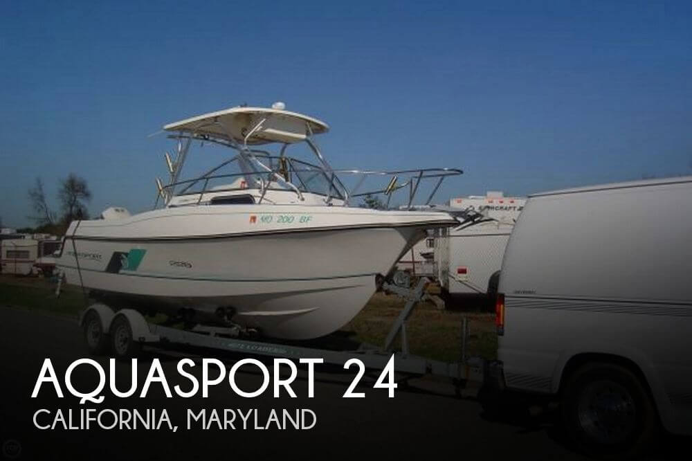 Used Aquasport Boats For Sale by owner | 1997 Aquasport 24