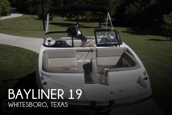 Used Bayliner Boats For Sale in Texas by owner | 2016 Bayliner 19