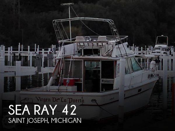 Used Sea Ray Boats For Sale in Michigan by owner   1982 Sea Ray 42