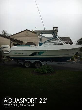 Used Aquasport Boats For Sale by owner | 1999 Aquasport 22