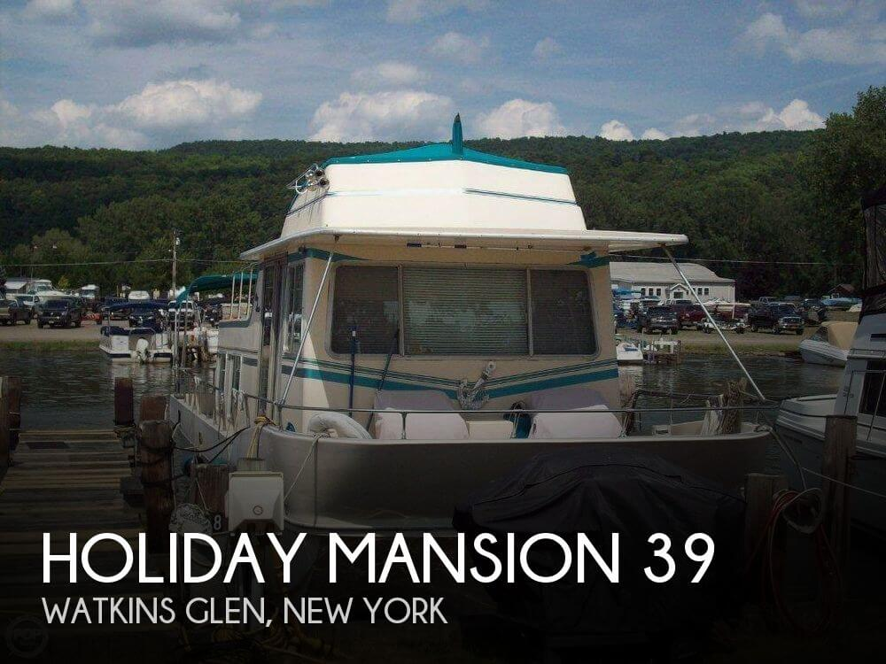 Used Holiday Mansion Houseboats For Sale by owner | 1984 Holiday Mansion 39
