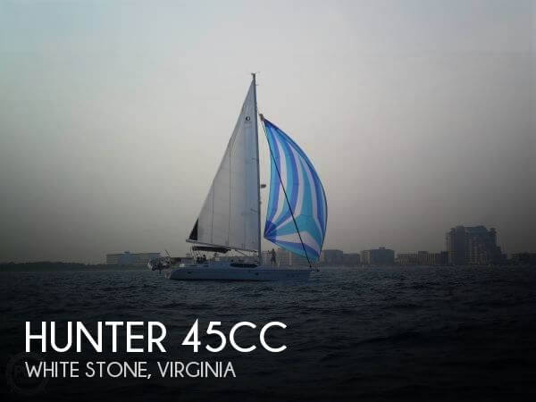 Used Hunter Sailboats For Sale by owner | 2008 Hunter 45