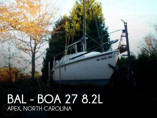 Used Sailboats For Sale in North Carolina by owner | 1977 Bal - Boa 27