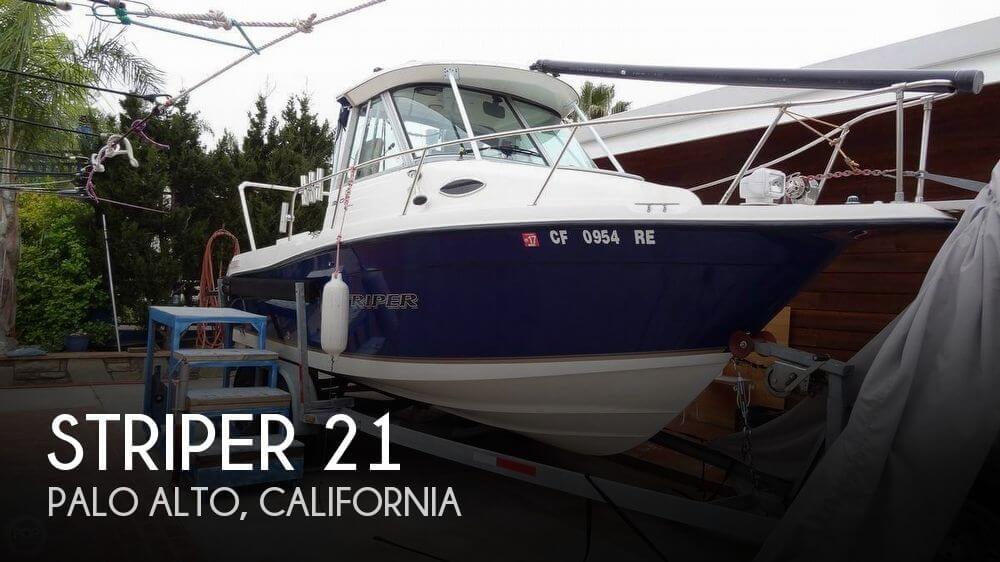 Used Boats For Sale in Santa Cruz, California by owner | 2004 Striper 21