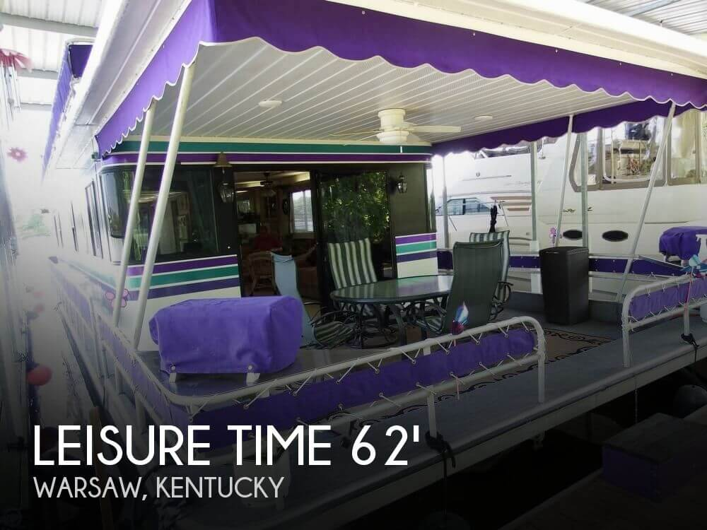 Used Boats For Sale in Kentucky by owner | 1990 Leisure Time 62
