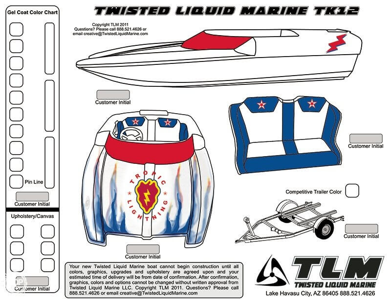 2013 Twisted Liquid Marine boat for sale, model of the boat is 12 & Image # 28 of 42