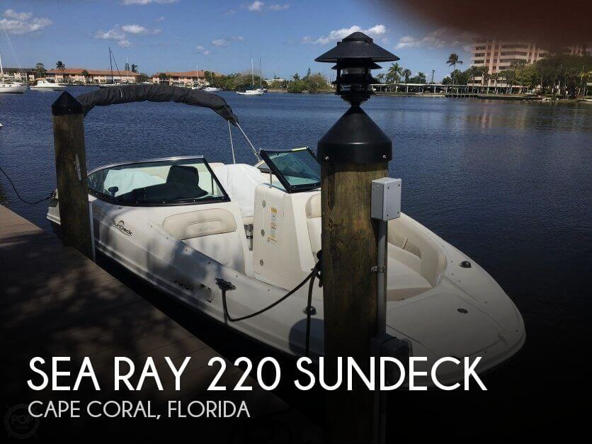 Used Sea Ray Ski Boats For Sale by owner | 2013 Sea Ray 22