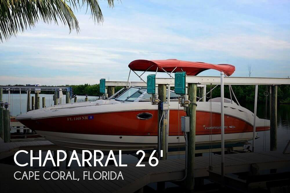 Used Chaparral 26 Boats For Sale by owner | 2008 Chaparral 26
