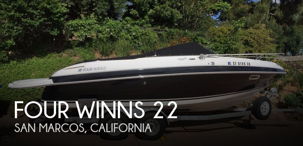 Used Four Winns Boats For Sale in California by owner | 2003 Four Winns 22