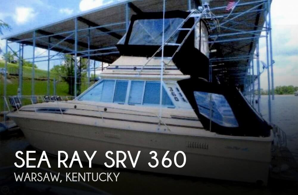 Used Boats For Sale in Lexington, Kentucky by owner | 1980 Sea Ray 36