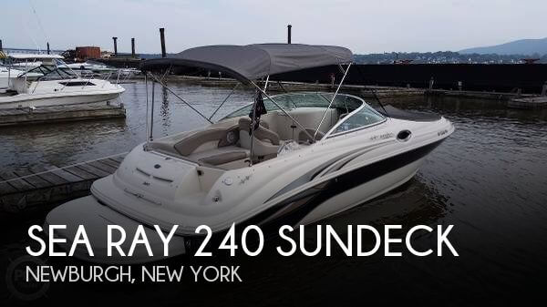 Used Deck Boats For Sale in New York by owner | 2004 Sea Ray 24