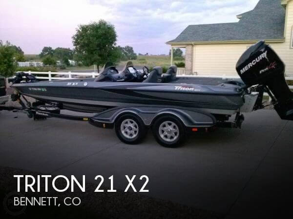 Used Boats For Sale in Fort Collins, Colorado by owner | 2008 Triton 21