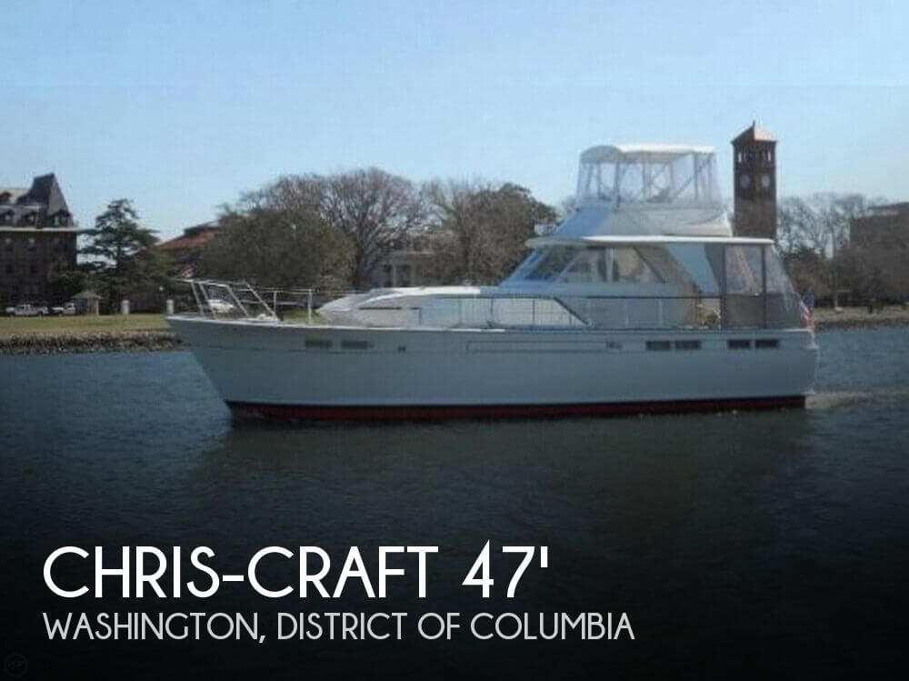 Used Boats For Sale in Hagerstown, Maryland by owner | 1969 Chris-Craft 47