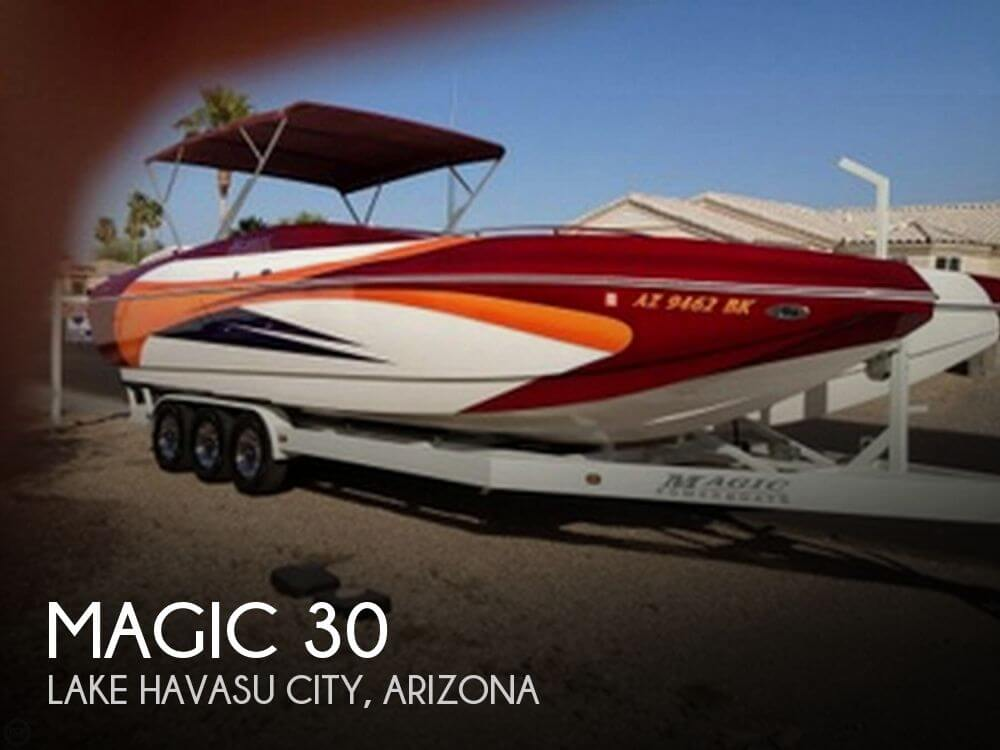 Used Boats For Sale in Arizona by owner | 2006 Magic 30