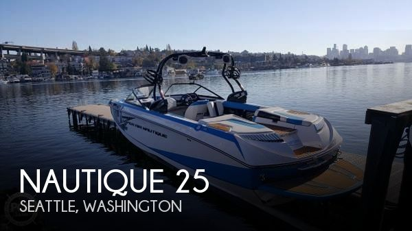 Used Power boats For Sale in Washington by owner | 2014 Nautique 25
