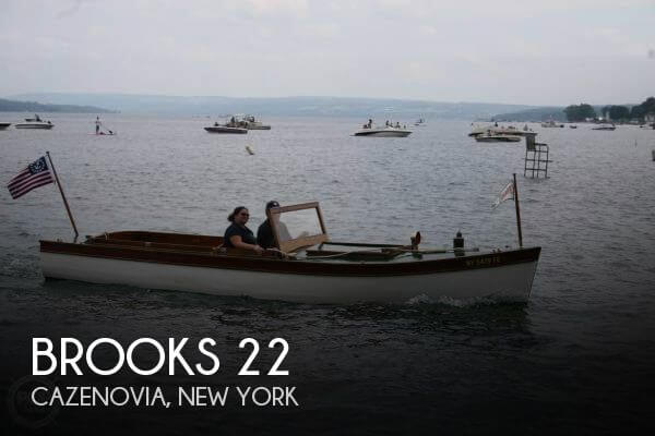 Used Power boats For Sale by owner | 1915 Brooks 22