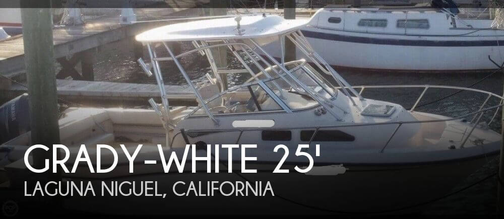 Used Boats For Sale in San Diego, California by owner | 2006 Grady-White 25