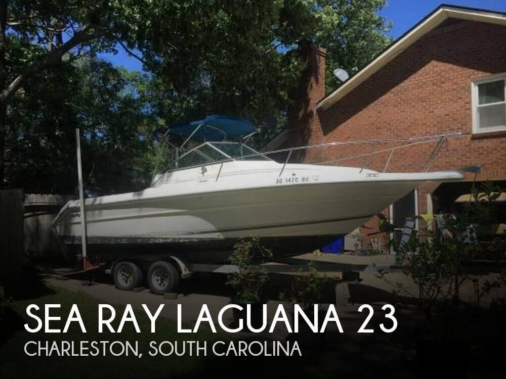 1990 Sea Ray boat for sale, model of the boat is Laguana 23 & Image # 1 of 41