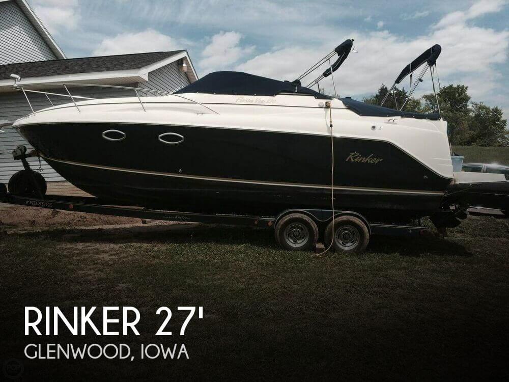 Used Boats For Sale in Omaha, Nebraska by owner   2003 Rinker 27