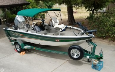 Crestliner Fish Hawk 1750 SC, 17', for sale - $16,500